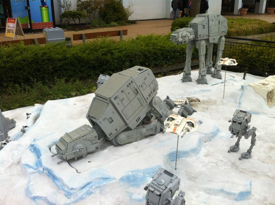 Legoland Billund: star wars