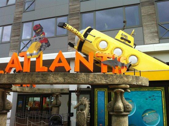 Legoland Billund: l'acquario