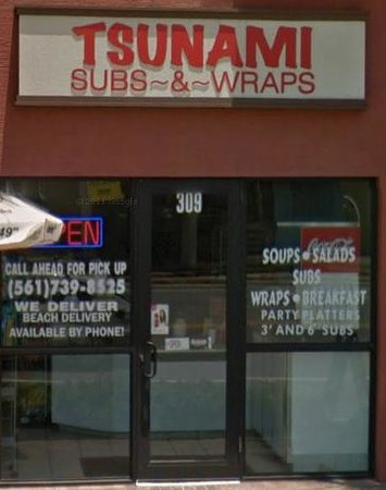 ‪Tsunami Subs and Wraps‬