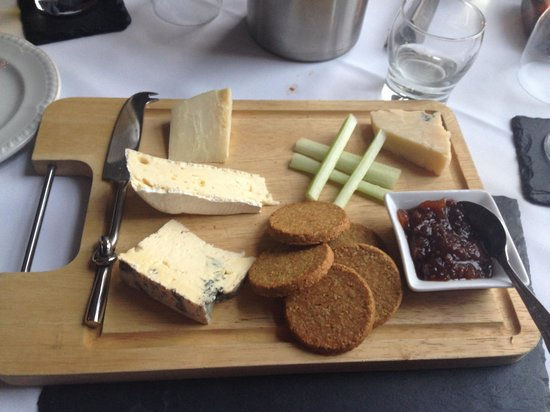 Sconser Lodge Hotel: The best ever cheese board