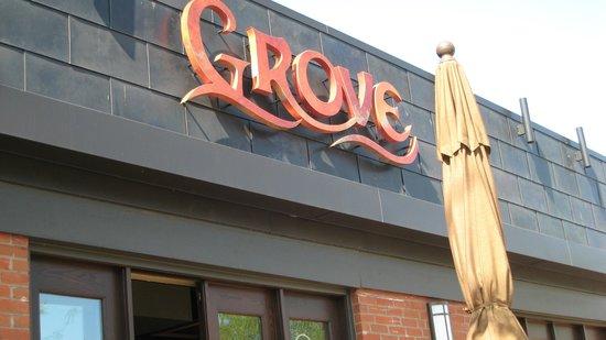 Grove: Exterior of restaurant