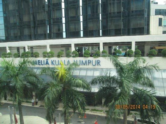 Melia Kuala Lumpur: Front view