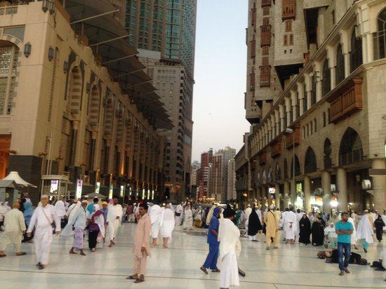 Makkah Millennium Towers : Exterior View From Haram