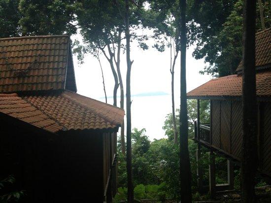 Berjaya Langkawi Resort - Malaysia : View between two forest chalets