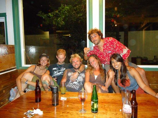 Jungle Cafe Utila Honduras: Cool people, cool place