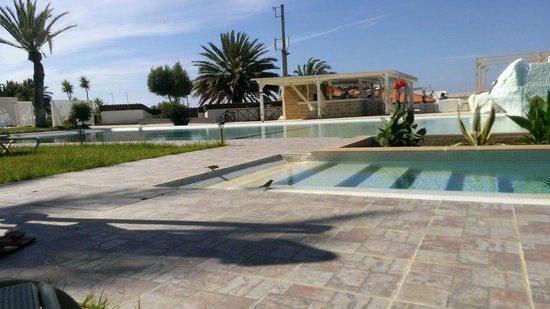 Zening Resorts: Воробьи у бассейна