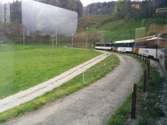 GoldenPass Line : Near Montreux