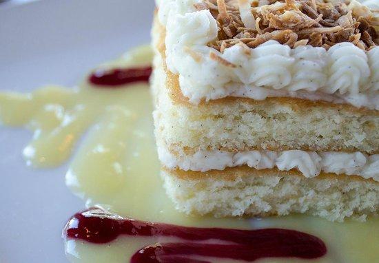 Cork & Cuisine : Vanilla Bean Coconut Cake