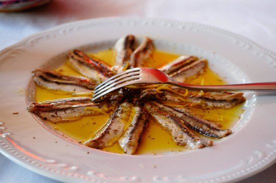Trattoria Dal Billy: Anchovies marinated in lemon *must try*