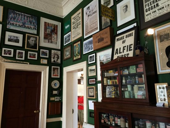 The Little Museum of Dublin: One of the rooms