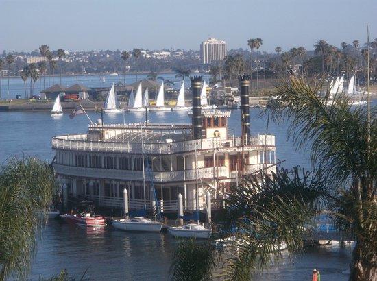 Catamaran Resort Hotel and Spa: Sternwheel view from my room
