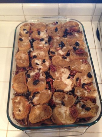 The Little Mexican Cooking School: Bread pudding dessert