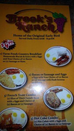 Brooks Ranch Restaurant