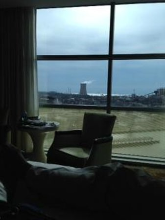 Blue Chip Casino Hotel Spa: Interesting view