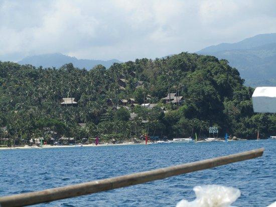 Coco Beach Island Resort: Coco beach vue de la mer