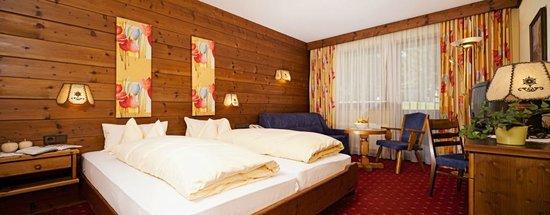 Biohotel Leutascherhof: Doppelzimmer Gartenzimmer