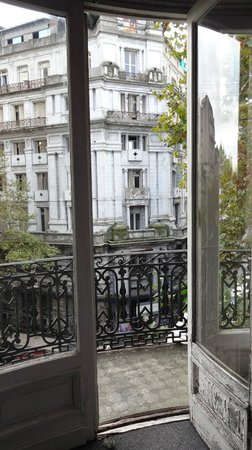 Hotel Mundial : Ventanal