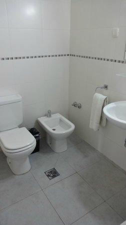 Hotel Mundial : Baño