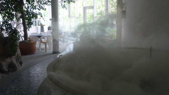 Hotel Frankenland: Ruhebereich im Bad