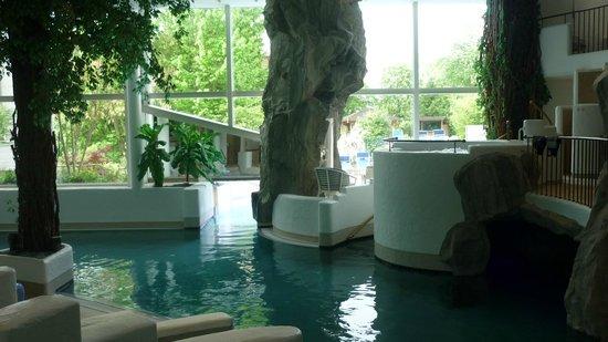 Hotel Frankenland: Innenbereich Schwimmbad