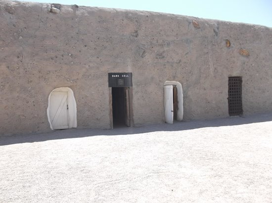 Yuma Territorial Prison State Historic Park: Dark cell