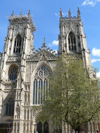 York Minster front