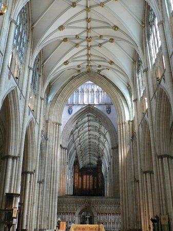 York Minster: Inside