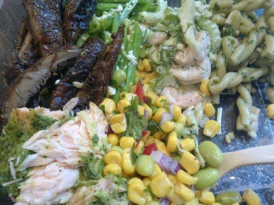 Essen Slow Fast Food: Salad variety was amazing!