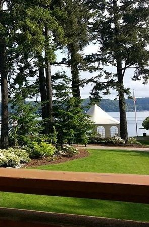 Alderbrook Resort & Spa: View straight out of our room
