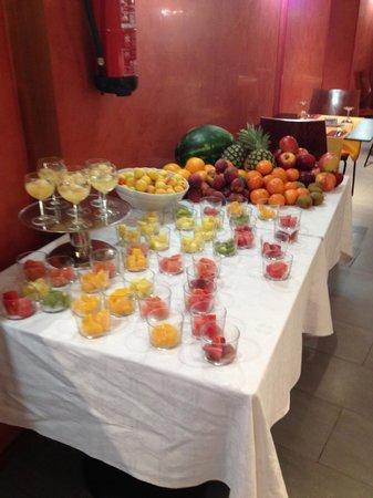 Hotel Platjador : Breakfast abundance