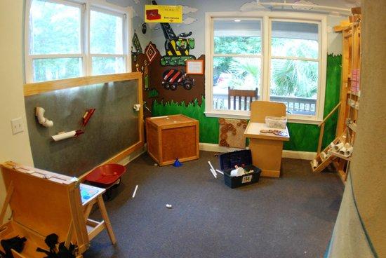 The Sandbox Interactive Children's Museum: Construction Area