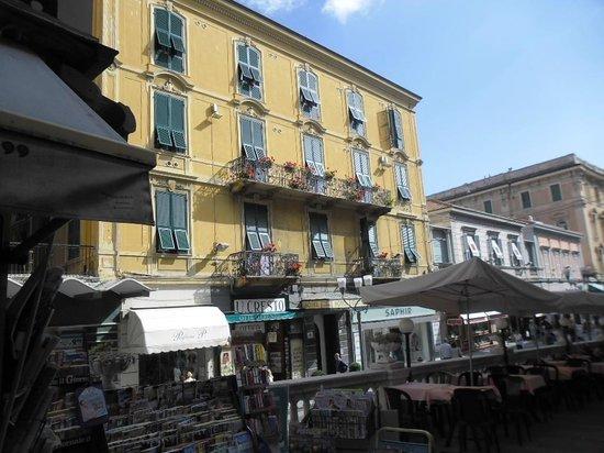 Hotel Eletto : la facciata dell'albergo