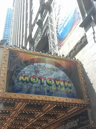 Motown Marque on the Oriental Theatre