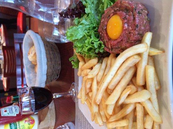 Ibis Styles Lyon Sud Vienne : Beef tartare
