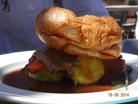 The Sheppey: Roast Beef & Yorkshire Pudding