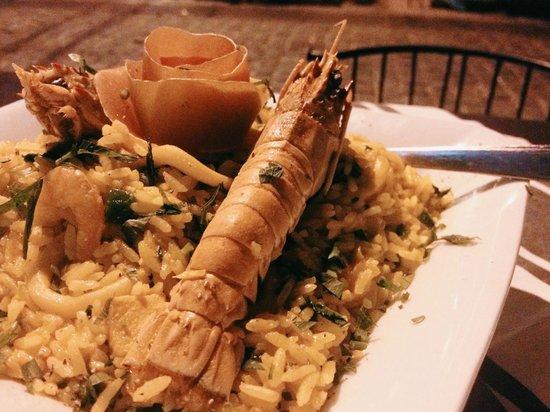 Taverne 67 : very good seafood rice