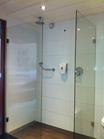 Van Der Valk Hotel Emmen: Shower in Bathroom