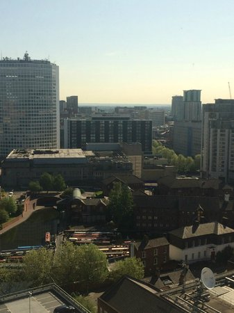 Jurys Inn Birmingham : Great views of the city
