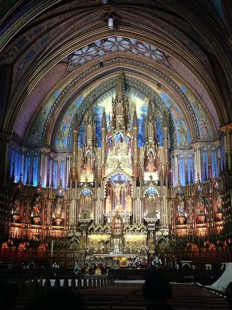 Notre-Dame Basilica: The Altar revealed