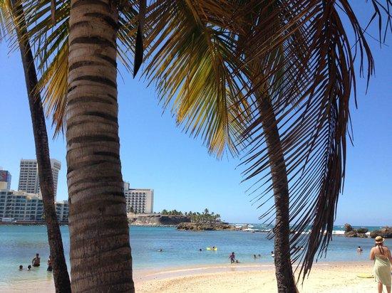 San Juan Beach Hotel: Prainha do Condado