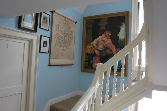 Tredudwell Manor: Treppenhaus