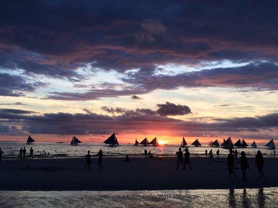 Le Soleil de Boracay: Boracay sunset