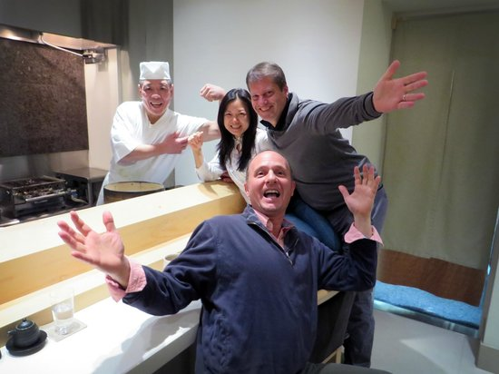 Sushi Bar Yasuda: Come join the fun...