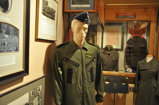 The Prince Edward Island Regiment Museum: Inside The Museum Are These Displays