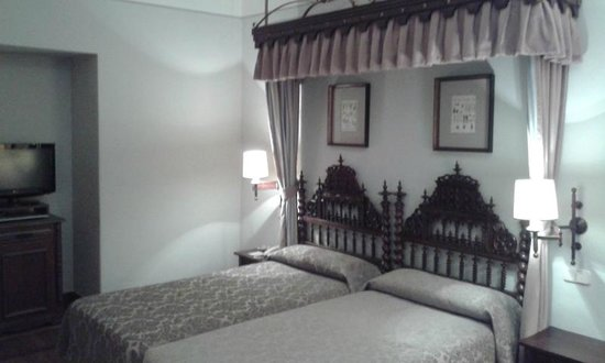 Parador Hostal Dos Reis Catolicos: Vista do quarto