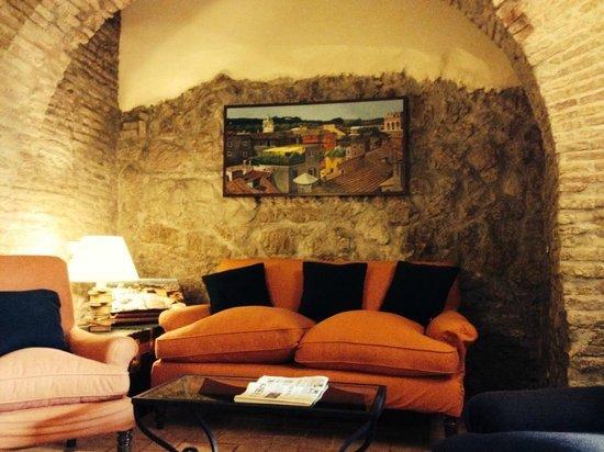 Hotel Santa Maria: Salle de détente commune