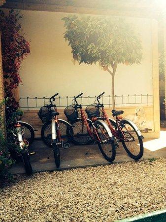 Hotel Santa Maria: Les vélos à disposition