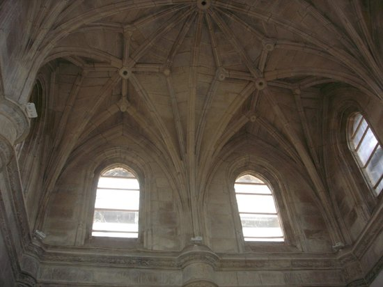 Parador Hostal Dos Reis Catolicos: Vista interna do teto de uma das áreas