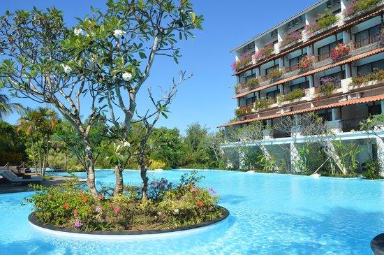 Swiss-Belhotel Segara Resort & Spa : Бассейн