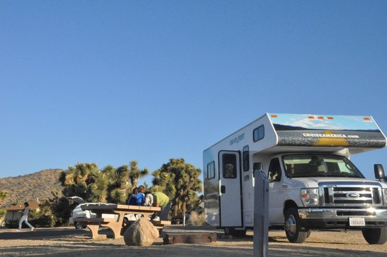 Black Rock Campground : En el campamento